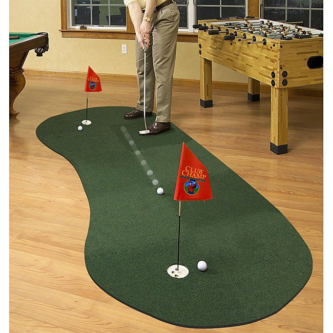 Club Champ Expand-a-Green Felt/Foam 10-panel Modular Putting System (3.5' x 8') at Sears.com
