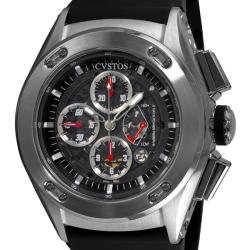 Cvstos Men's CVCRRNSTGR 'Challenge-R 50' Water-Resistant Stainless-Steel Chronograph Watch