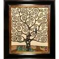 Gustav Klimt 'Tree of Life' Vertical Canvas Art