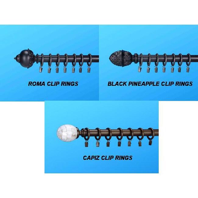 Decorative Curtain Rings (Set of 14)