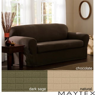 Reeves 2-piece Stretch Loveseat Slipcover