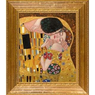 Gustav Klimt 'The Kiss' Canvas Art