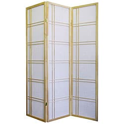 Girard 3-panel Natural Room Divider Screen