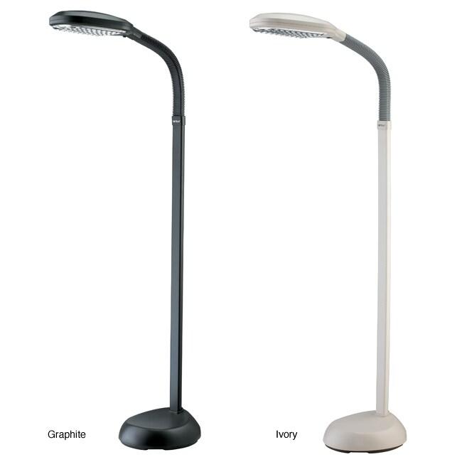 verilux original natural spectrum floor lamp overstock shopping. Black Bedroom Furniture Sets. Home Design Ideas