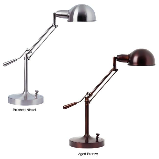 verilux brookfield natural spectrum desk lamp overstock shopping top rated verilux light. Black Bedroom Furniture Sets. Home Design Ideas