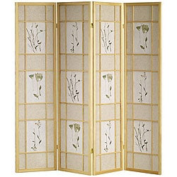 Shoji Natural 4-panel Screen