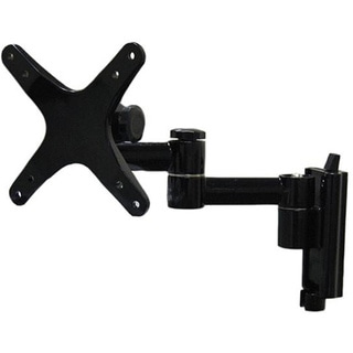 Arrowmounts Full Motion Articulating Wall Mount for LED/LCD TVs up to 27 Inch AM-P16B Black