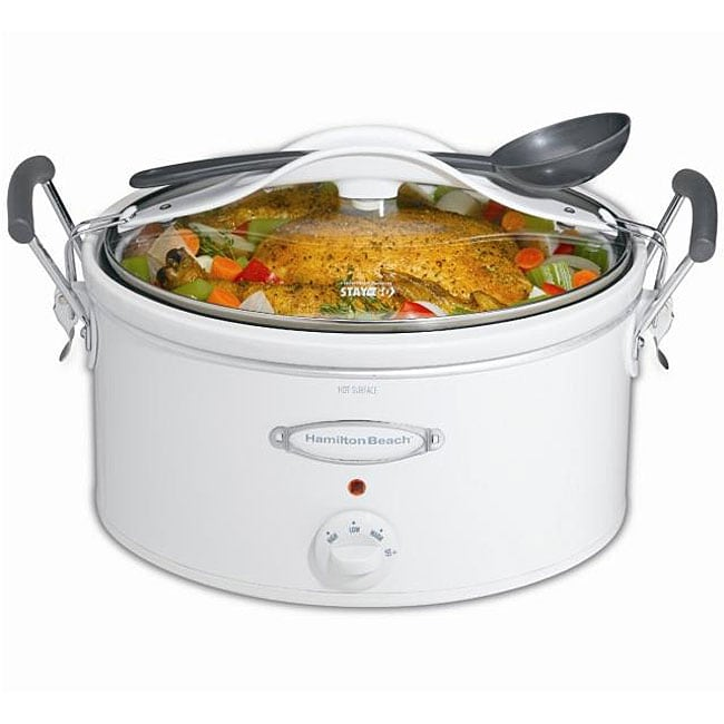 Hamilton Beach 33163 Stay-or-Go 6-quart Slow Cooker (Refurbished)