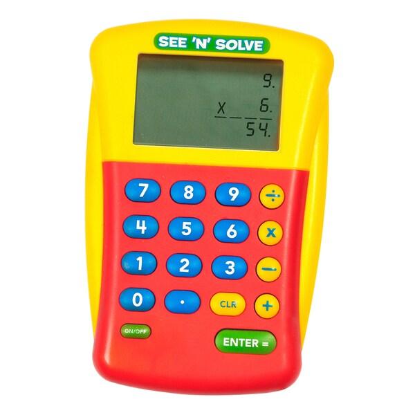 Educational Insights See 'N' Solve Visual Calculator 7013891