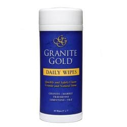 Granite Gold Daily Cleaner Stone 40-piece Wipes (Pack of 2)