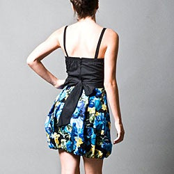 Wishes Juniors Blue Floral Dress