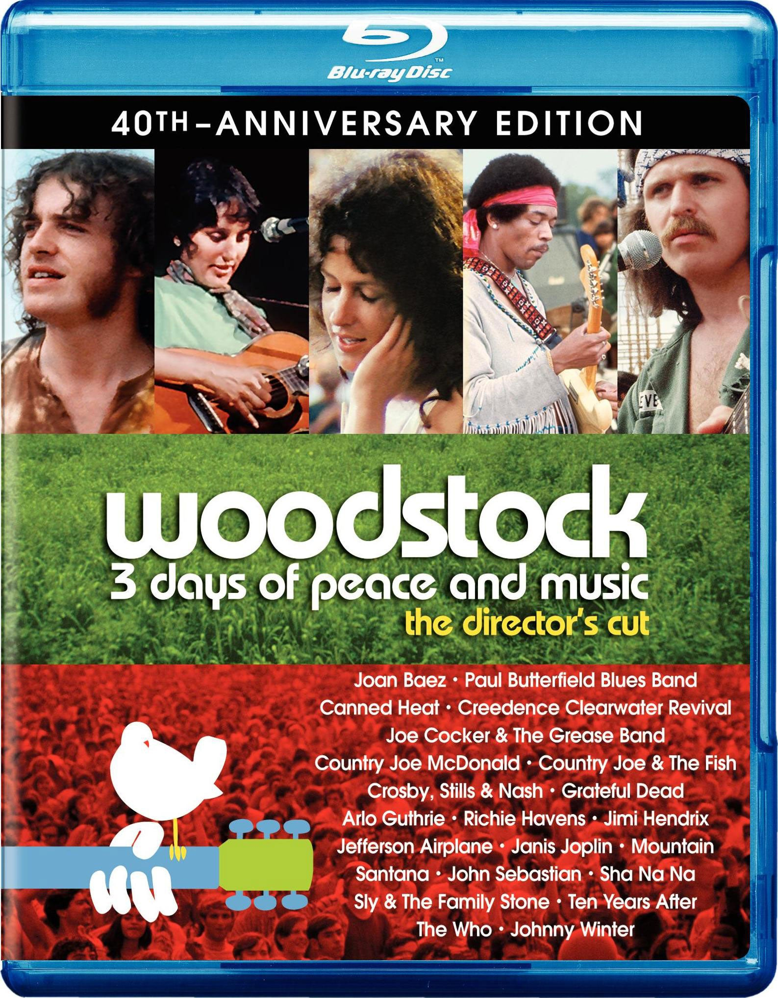 Woodstock 3 Days Of Peace & Music Director's Cut 40th Anniversary Ultimate Collector's Edition (Blu-ray Disc)