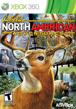 Xbox 360 - Cabela`s North American Adventures 2011 - By Activision Inc.