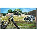 Colleen Proppe 'Nicasio Fence Post' Gallery-wrapped Canvas Art