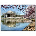 CATeyes 'Jefferson Memorial' Gallery-wrapped Canvas Art