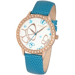 Stuhrling Original Women's 'Fantasia' Goldtone Swiss Quartz Watch