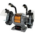 Black Bull 8-inch Bench Grinder with Lights