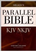 Parallel Bible: King James Version / New King James Version, Dual-Translation Center-Column Reference Bible (Hardcover)