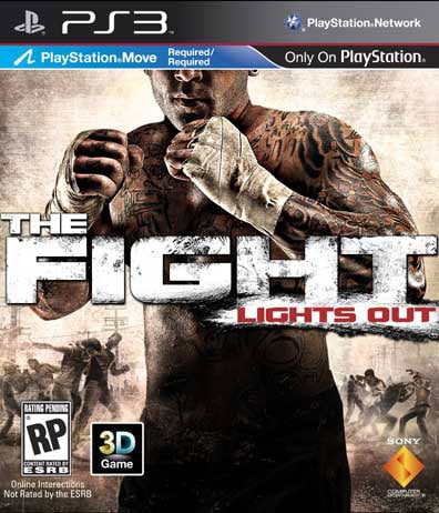 PS3 - The Fight: Lights Out (PlayStation Move) - By Sony Computer Entertainment