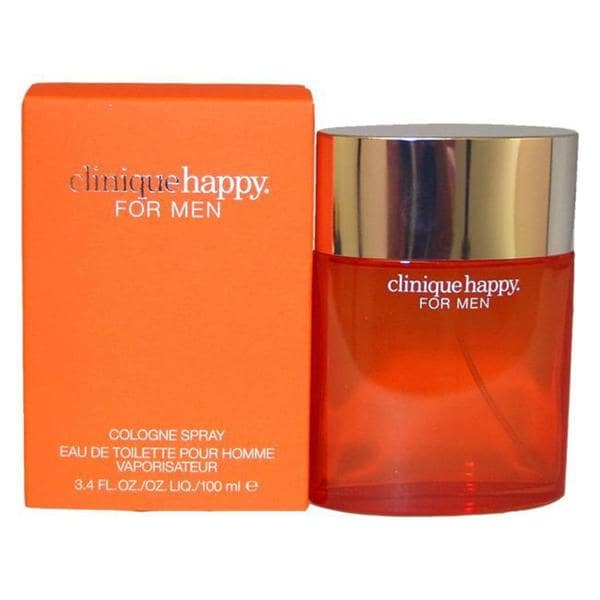 Clinique Happy for Men Men's 3.4-ounce Cologne