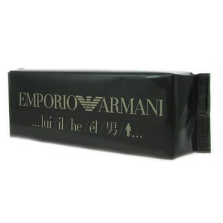Giorgio Armani 'Emporio Armani He' Men's 3.3-ounce Eau de Toilette Cologne Spray