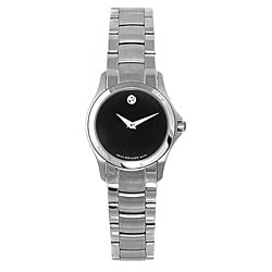 Movado Women's Military Stainless Steel Quartz Watch