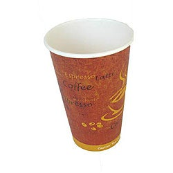 Disposable 12-oz Hot Coffee Paper Cups (Case of 1000)