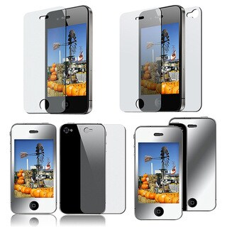 Screen Protector for Apple iPhone 4 (Pack of 3)