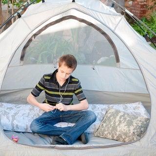 Large Roll-n-Go Memory Foam Orthopedic Camping Sleeping Pad