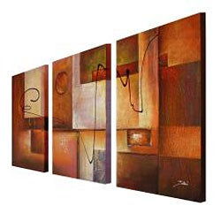 'Abstract 11' 3-piece Canvas Art Set