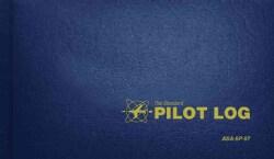 The Standard Pilot Log: Navy Blue (Hardcover)