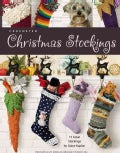 Crocheted Christmas Stockings (Paperback)
