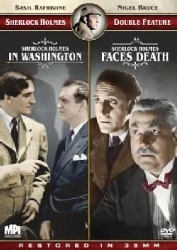 Sherlock Holmes Double Feature: Sherlock Holmes Faces Death/Sherlock Holmes in Washington (DVD)
