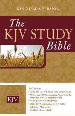 Holy Bible: King James Version Study Bible (Hardcover)