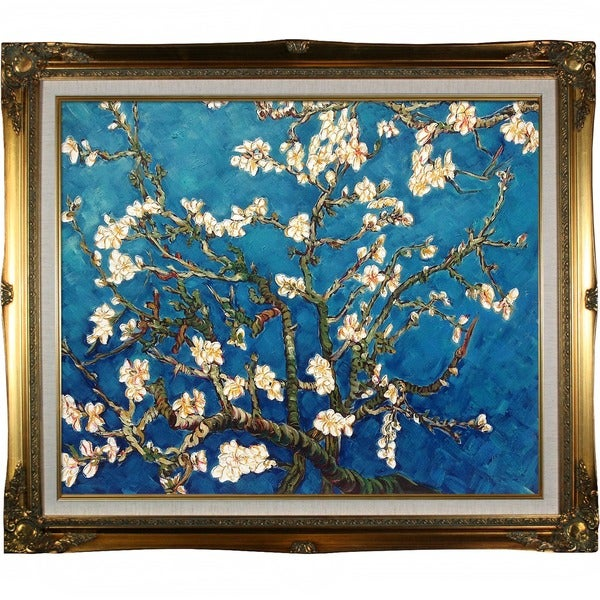 Van Gogh 'Branches Of An Almond Tree in Blossom' Canvas Art