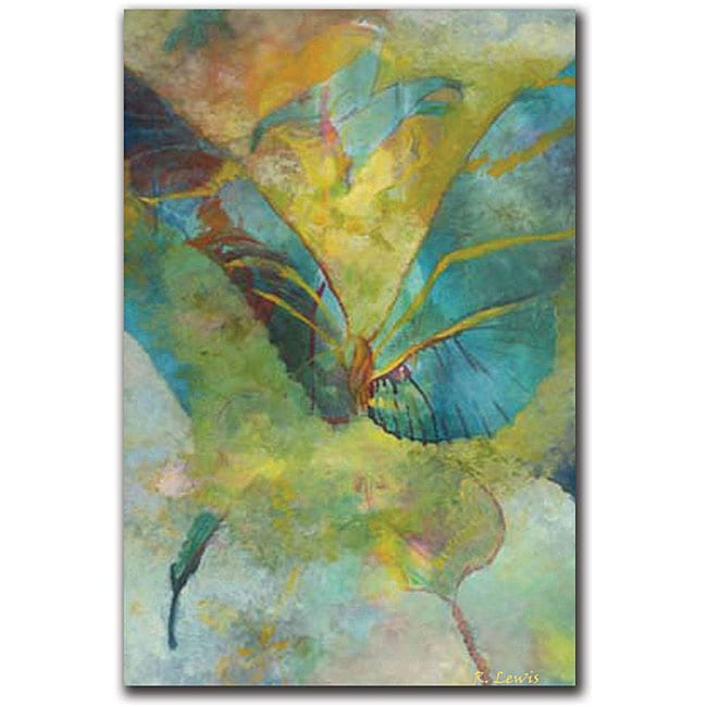 Rickey Lewis 'Butterflight' Gallery-wrapped Canvas Art