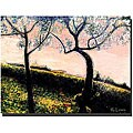 Rickey Lewis 'Talking Trees' Gallery-wrapped Canvas Art
