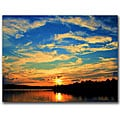 CATeyes 'Touch the Wind' Gallery-wrapped Canvas Art