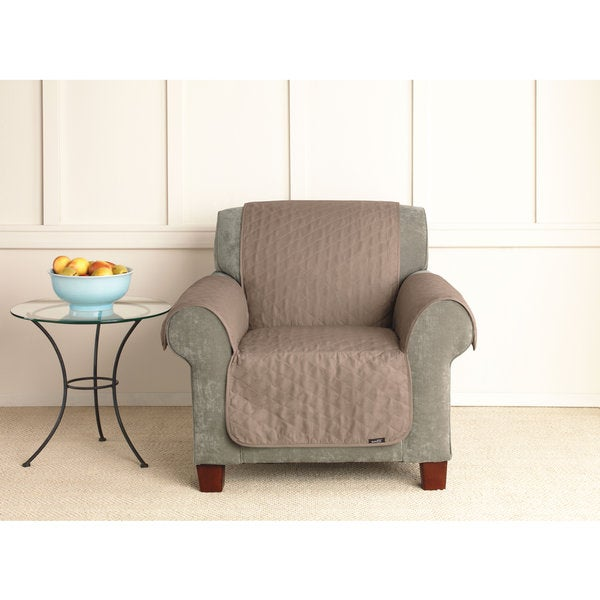 Sure Fit Quilted Cotton Chair Pet Throw