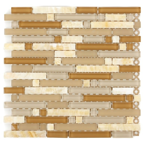 Mixed Marble Stone Tiles H-291 (Case of 10)