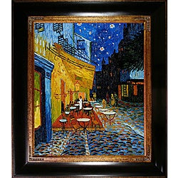 Van Gogh 'Cafe Terrace at Night' Canvas Art