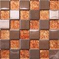 Trend Foil Mosaic Tiles I-444 (Case of 11)