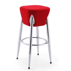 Rocket Microfiber Bar Stool