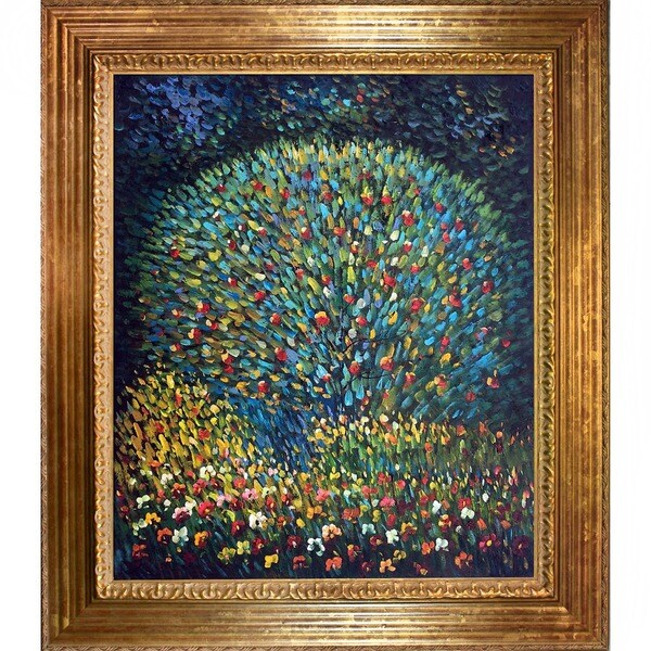 Gustav Klimt 'Apple Tree I' Canvas Art