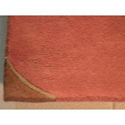 Indo Hand-tufted Tibetan Rug (5' x 8')