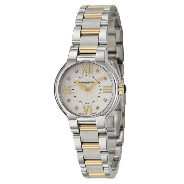 Raymond Weil Women's 5927-SPS-00995 Noemia Two Tone Diamond Stainless Steel Watch 7024011