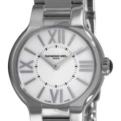 Raymond Weil Women's 5927-ST-00907 'Noemia' Mother of Pearl Face Watch