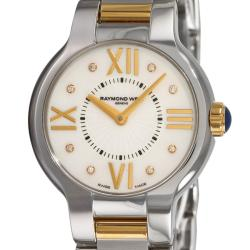 Raymond Weil Women's 'Noemia' Two-tone Diamond Watch