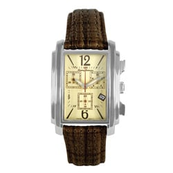 Tommy Bahama Men's 'Santiago' Chronograph Leather Watch