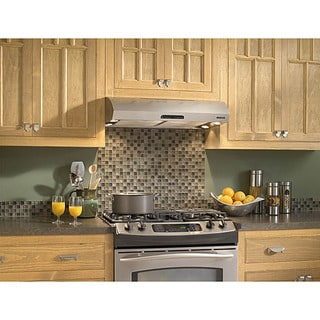 Broan Evolution 2 Series 30-inch Stainless Steel Under-cabinet Range Hood